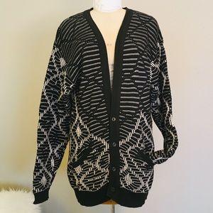 Vintage 80s Generra Collection Oversized Cardigan